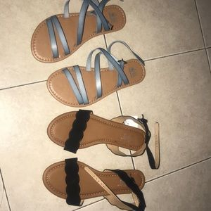Sandals bundle two pairs for the price of one